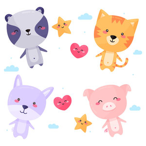 Animalitos kawaii