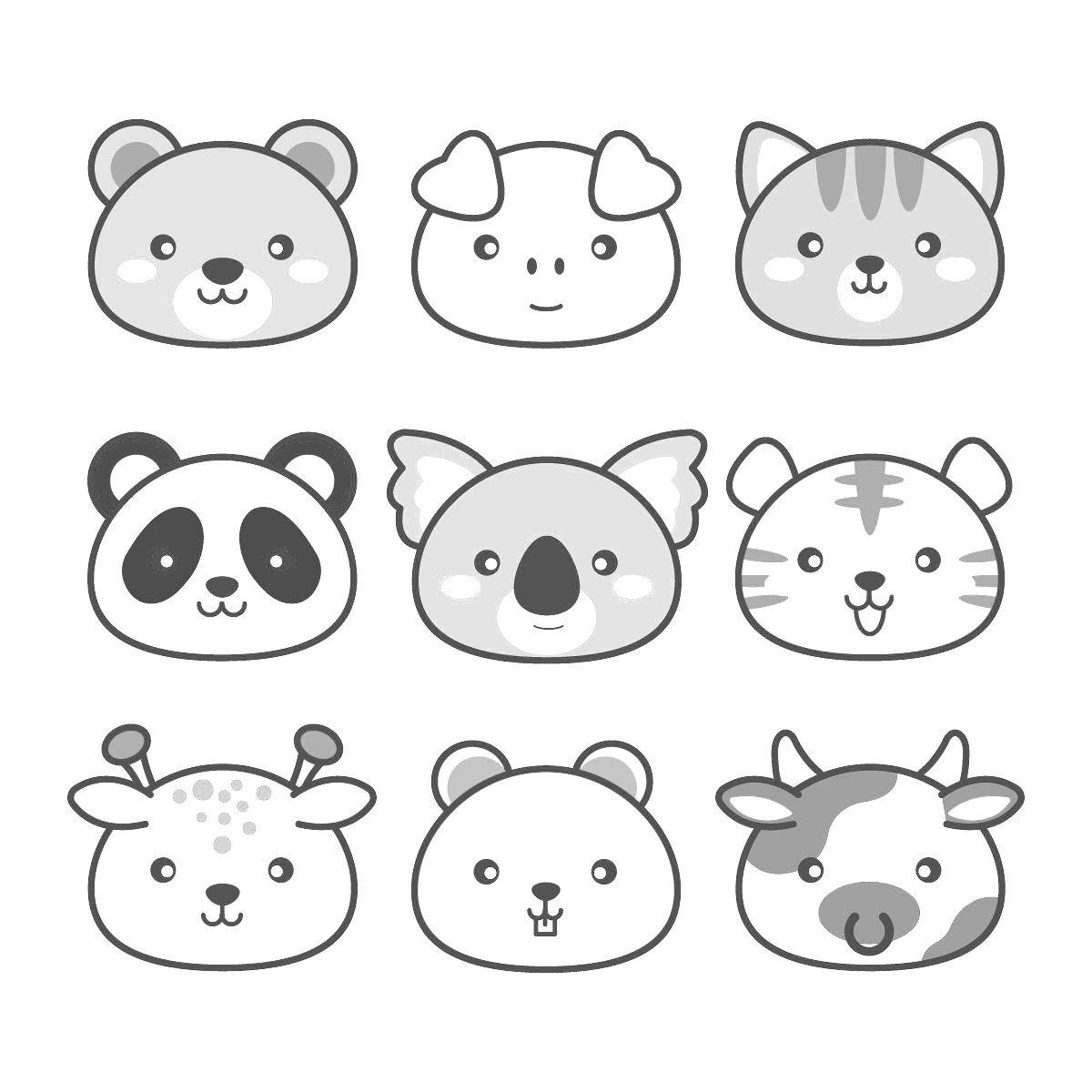 63 Dibujos Kawaii Para Descargar Y Colorear La Mejor Seleccion